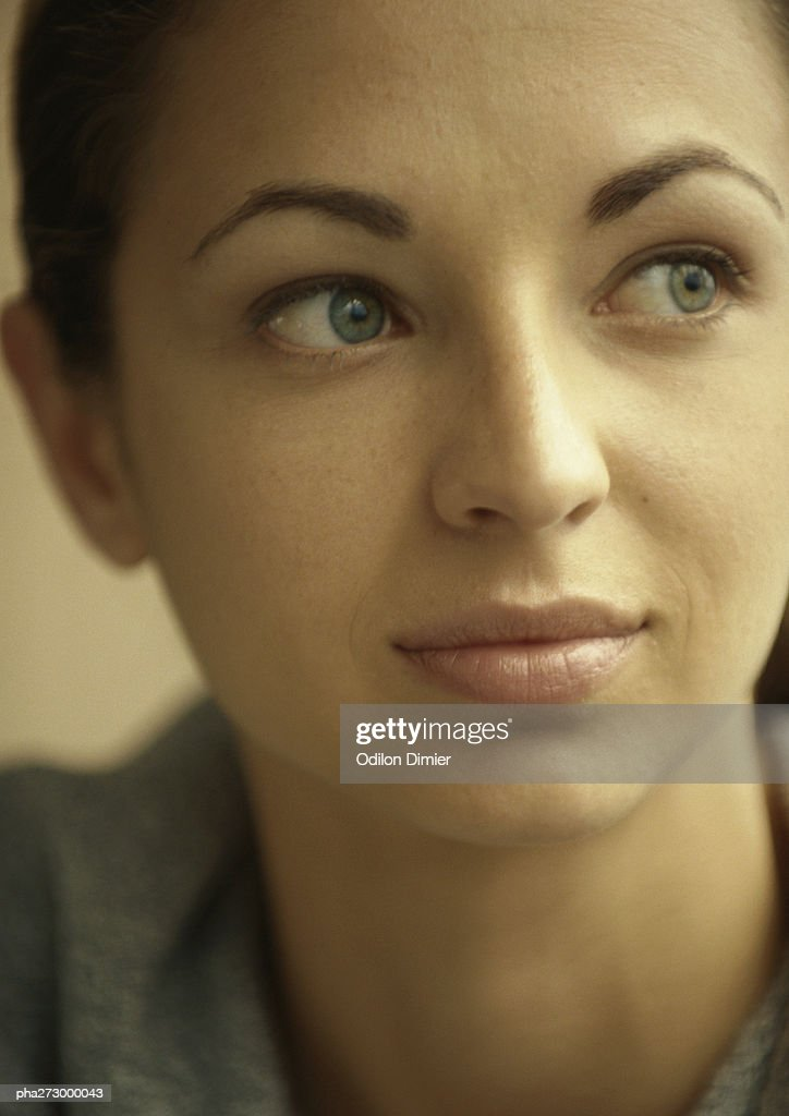 Young woman, portrait : Stockfoto