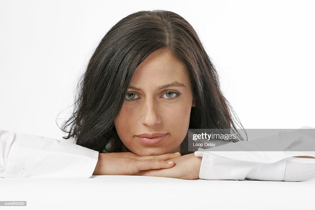 Young woman, portrait : Foto stock
