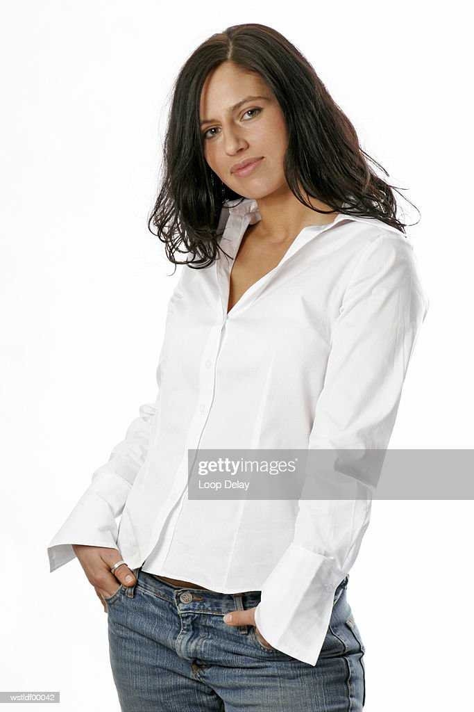Young woman posing : Stockfoto