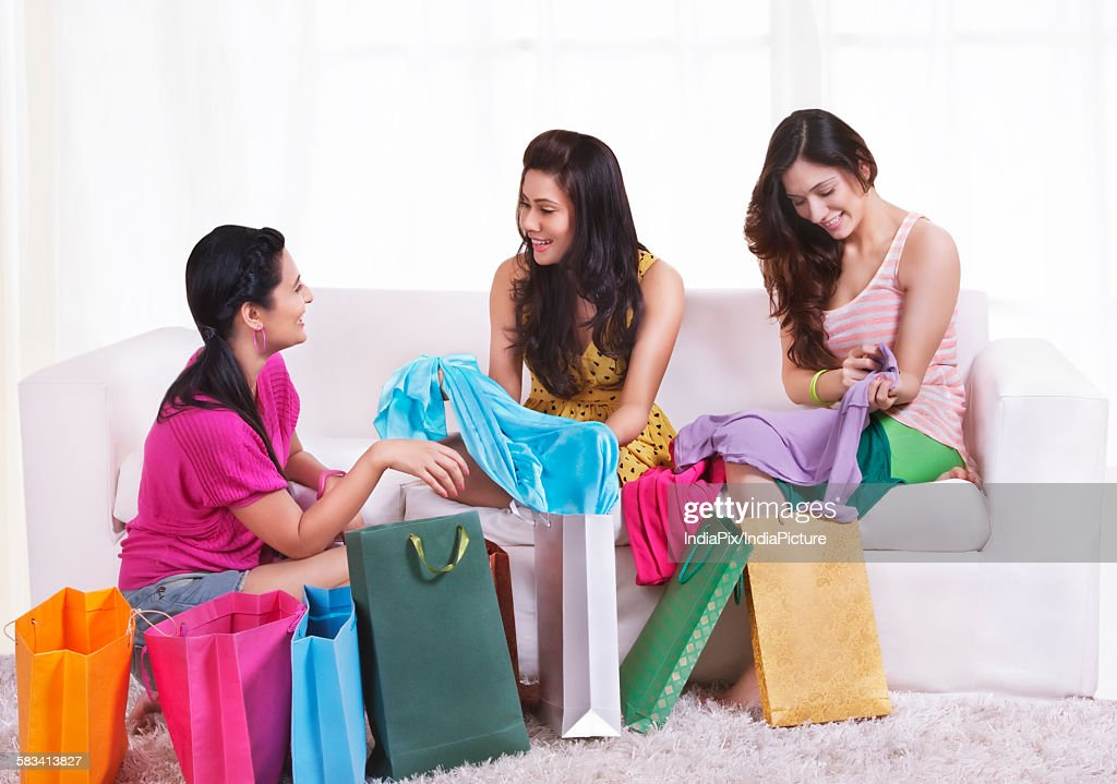 Young woman spending leisure time together : Stock Photo