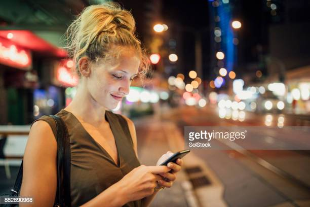 Young Woman Texting