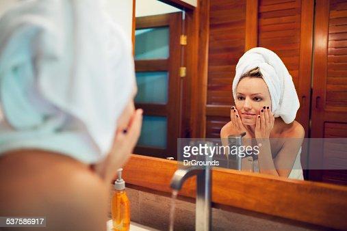 Little Girl Shower Stock Photos & Little Girl Shower Stock