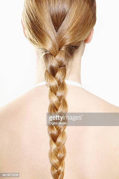 Young Woman With a Long Ponytail