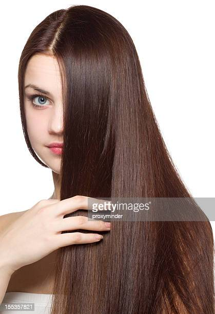 Young woman with beautifully hair