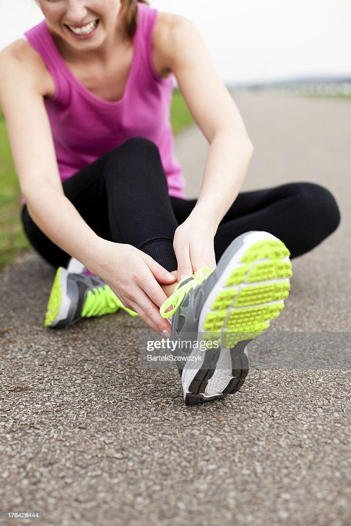 Running After Broken Ankle