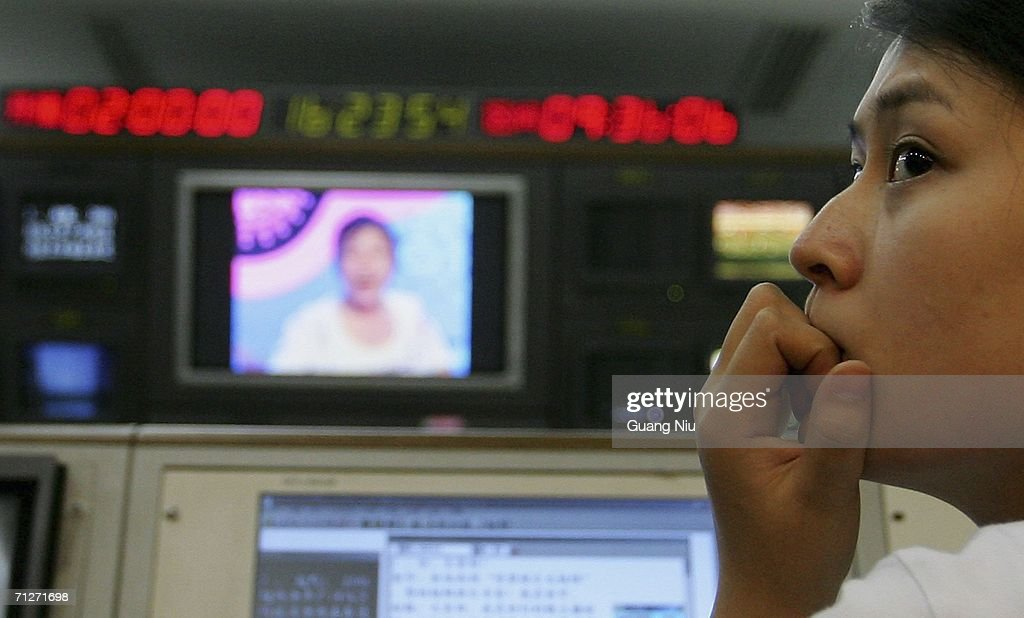 A young woman workd in a edit suite on the TV show 'Super Girl Voice' at Hunan Satellite TV station on June 21, 2006 in Changsha city, Hunan province of China. 'Super Girl Voice' is an entertainment program/talent show produced to select new girl stars. More and more Chinese youth are entering TV entertainment shows in an attempt to become famous and new pop idols.