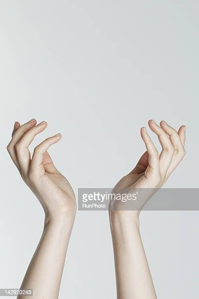 young woman's hands