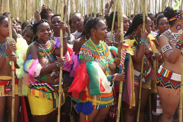 The Royal Reed Dance Festival in South Africa Photos and ...