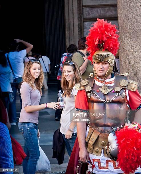 Giovane donna e Centurione