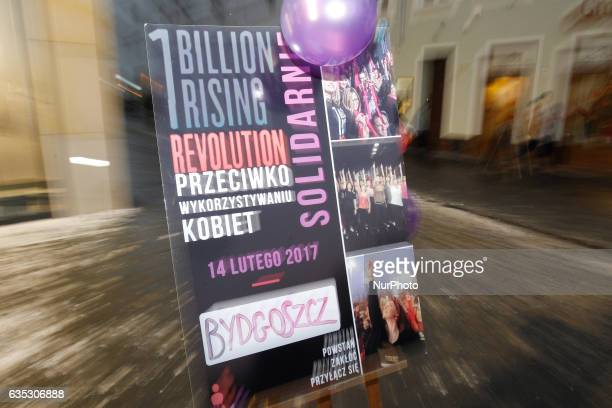 Young women are seen dancing as part of the world wide initiative to gain awareness for violence against women called 1 billion rising on 14 February...