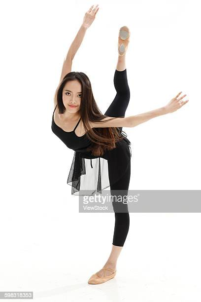 young women dance ballet - black skirt stock pictures, royalty-free photos & images