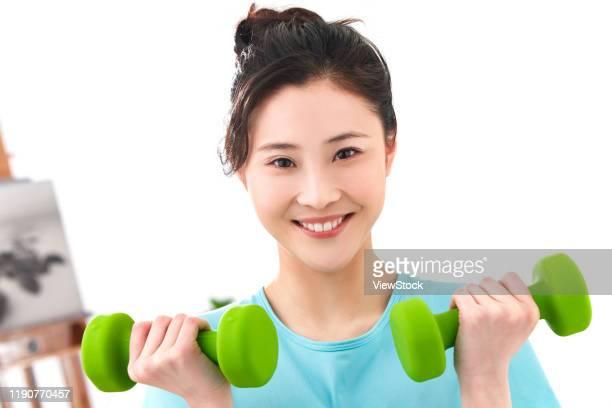 young women fitness - gymnastique douce photos et images de collection