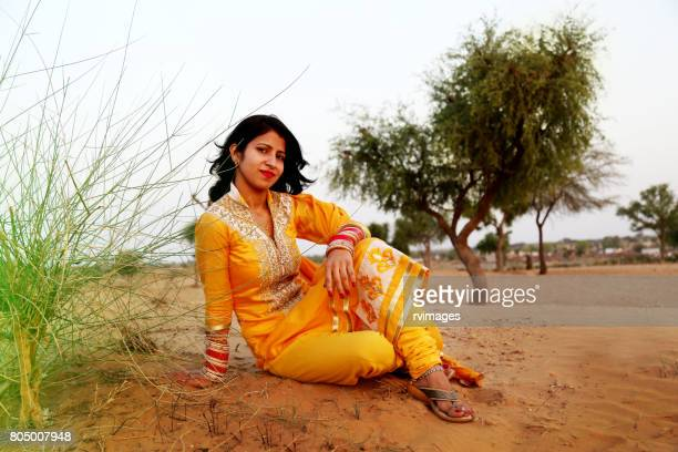 young women sitting portrait - salwar kameez stock pictures, royalty-free photos & images