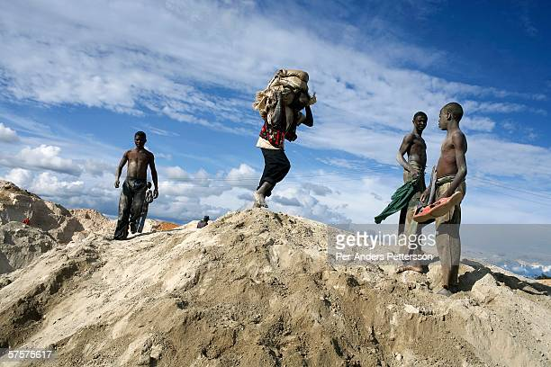 Young Workers At The Congo Mines