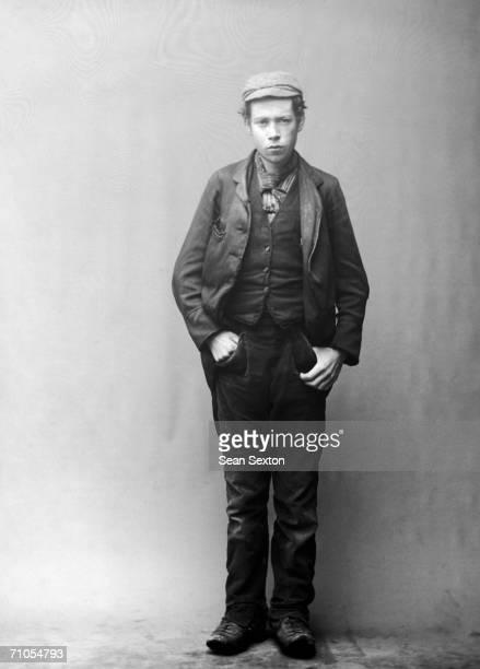 A young workingclass man circa 1880