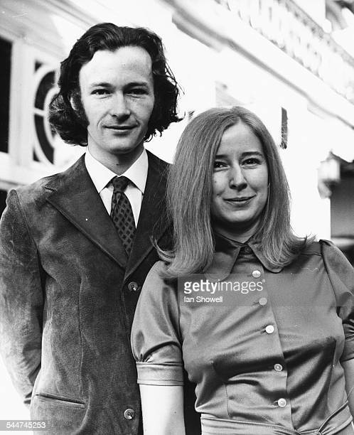 Young Writers Award winners Cynthia Harrod Eagles and Phillip N Pullman at the presentation ceremony at the Waldorf Hotel London November 10th 1971