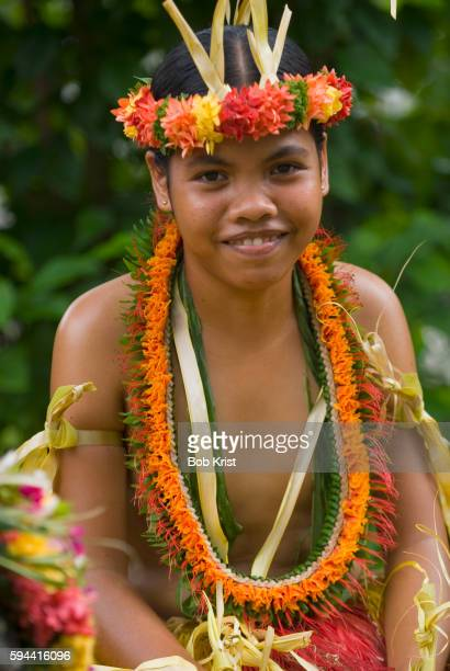 Young Yapese Dancer