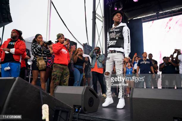 YoungBoy Never Broke Again performs during JMBLYA at Fair Park on May 3 2019 in Dallas Texas