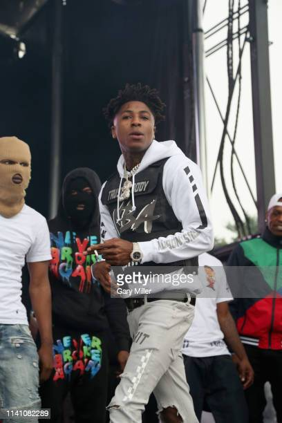 Youngboy Never Broke Again performs in concert during JMBLYA Dallas at Fair Park on May 3 2019 in Dallas Texas