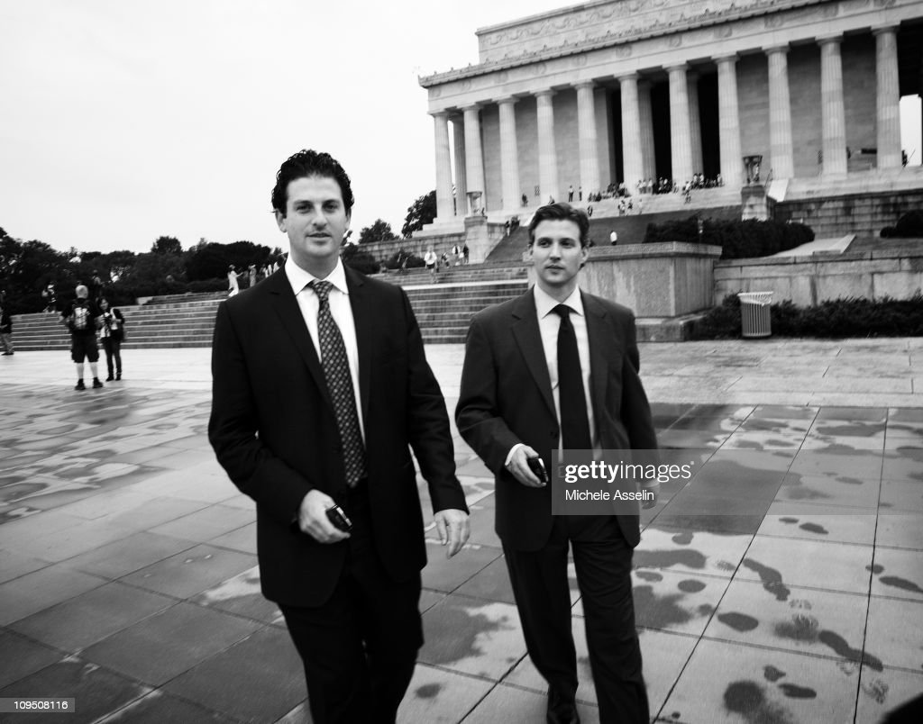Jared Cohen and Alec Ross, New York Times Magazine, July 18, 2010 : News Photo