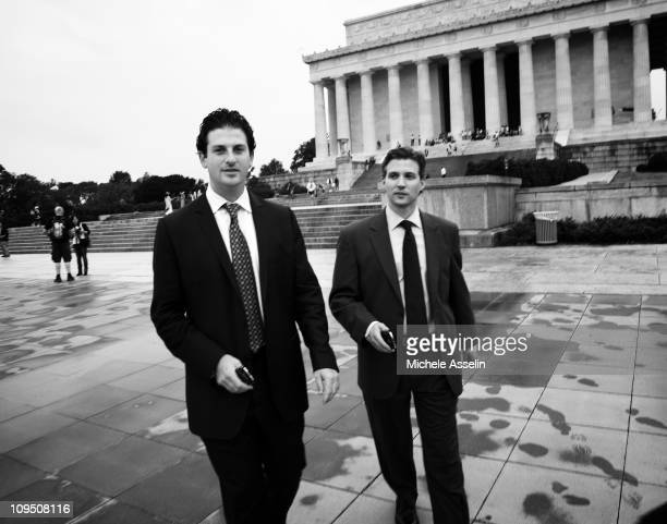 Youngest member fot the State Department's planning staff Jared Cohen and first Senior Adviser for Innovations to the Secretary of State Alec Ross...