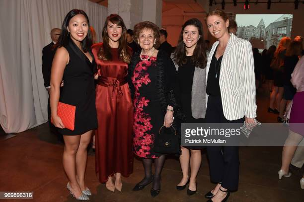 Young-Eun Choi, Carolina Reys, Matilda Cuomo, Eva Gonzalez and Claire Callagy attend the HELP USA Heroes Awards Gala at the Garage on June 4, 2018 in...