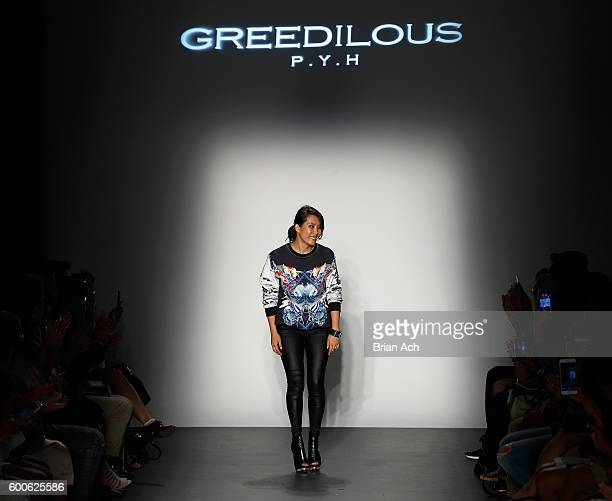 Younghee Park onstage during the Concept Korea fashion show during New York Fashion Week The Shows September 2016 at Pier 59 Studios on September 8...