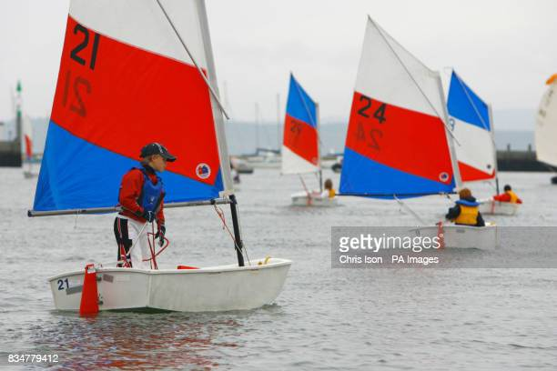 Youngsters take part in Wednesday Juniors' Sailing at the Royal Lymington Yacht Club in the New Forest For just 1 kids can come to the club and have...