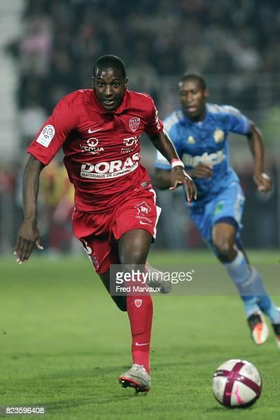 Younousse SANKHARE Dijon / Marseille 12eme journee de Ligue 1