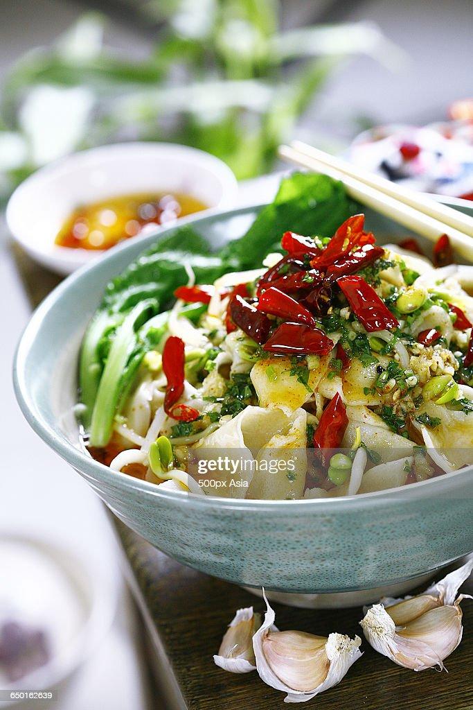 Youpo Noodle Stock Photo