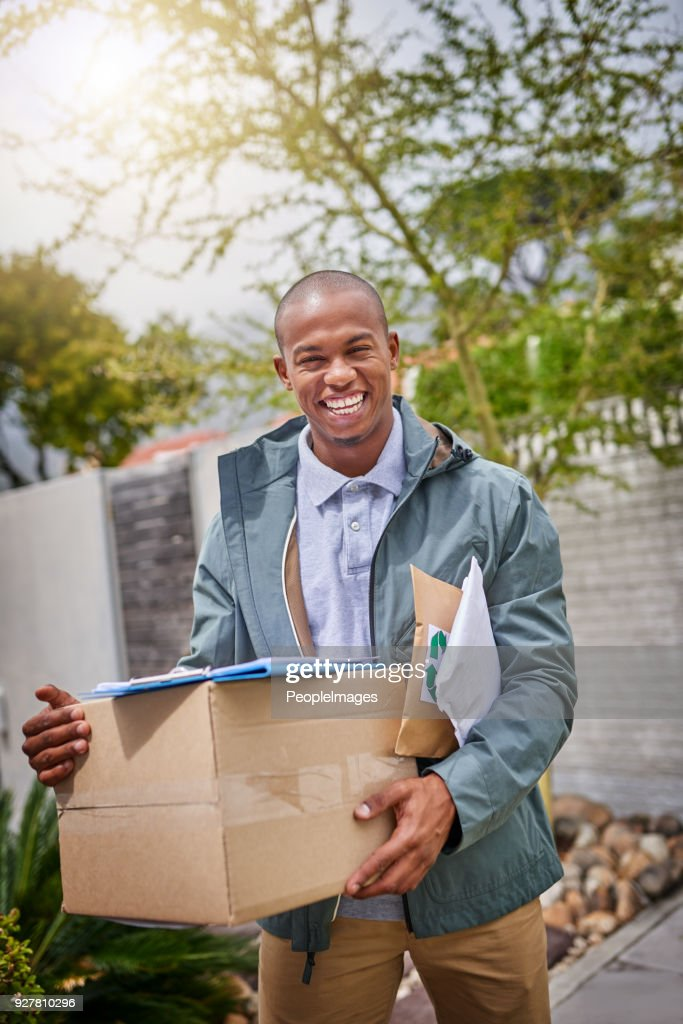 Your delivery is next on my list : Stock Photo