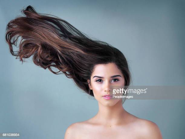 your hair should make you stand out - big hair stock photos and pictures