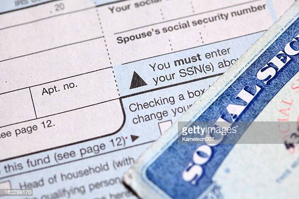 your identity - social security stock pictures, royalty-free photos & images