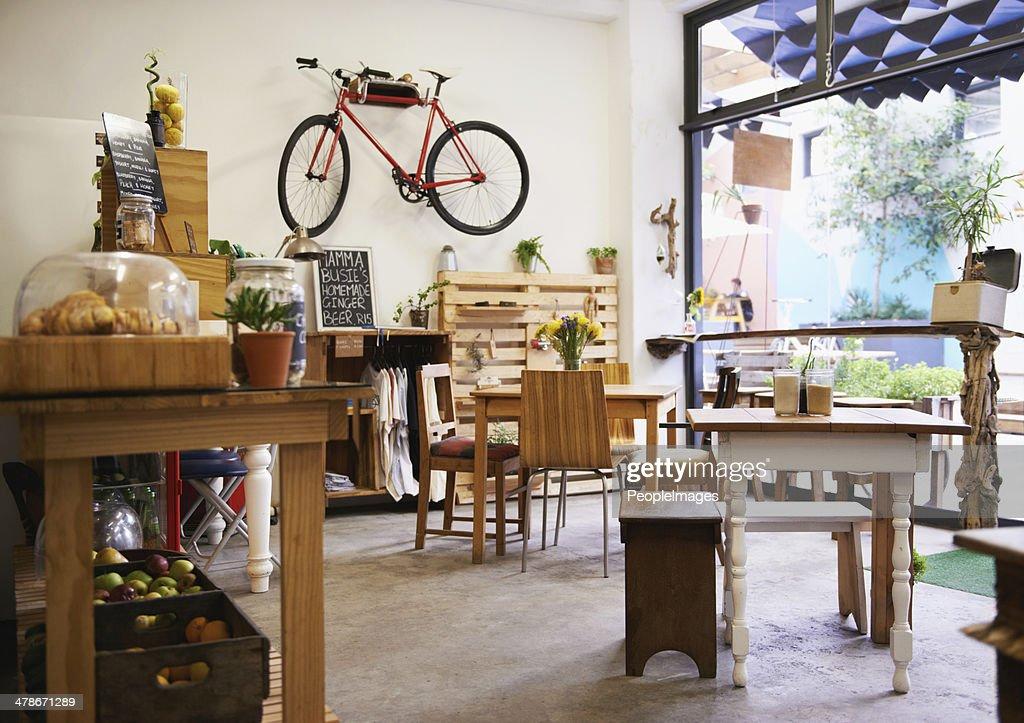 Ihr lokale coffee shop : Stock-Foto