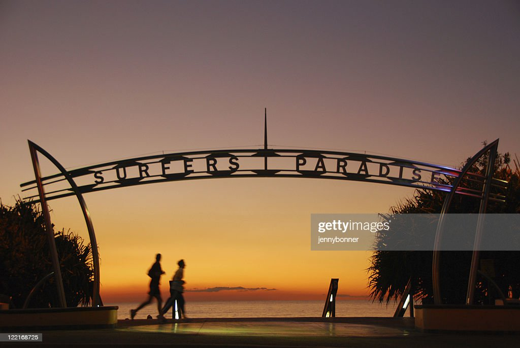 Your Most Welcome Surfers Paradise Sign Queensland Australia High Res Stock Photo Getty Images