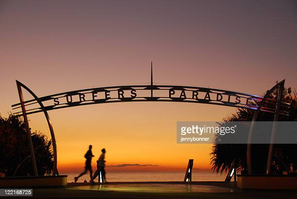 Your Most Welcome, Surfers Paradise Sign, Queensland, Australia