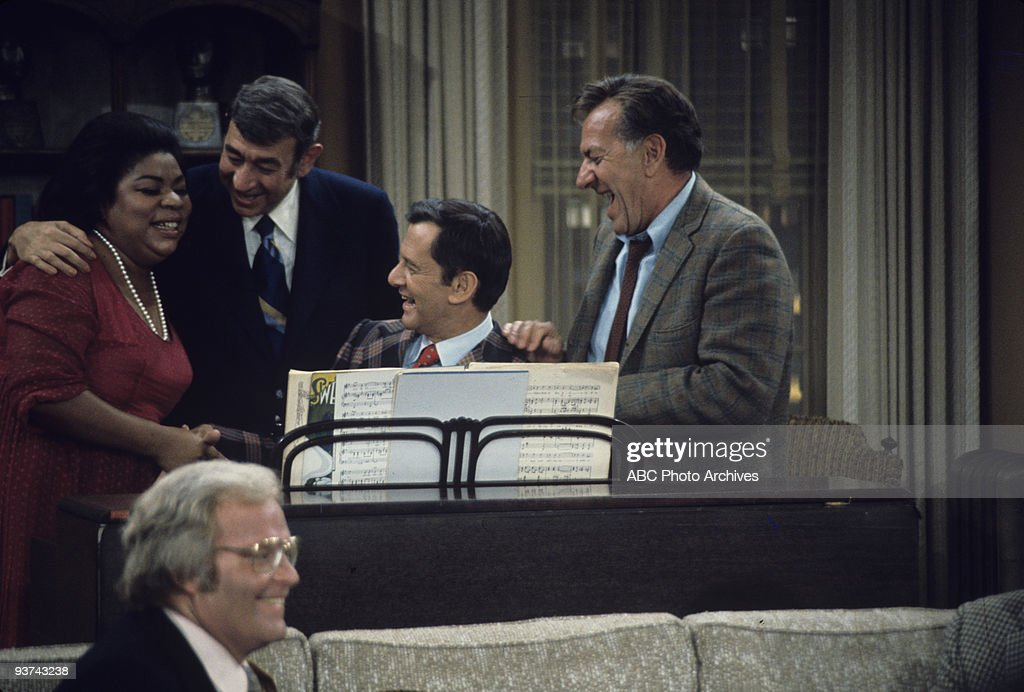 COUPLE - 'Your Mother Wears Army Boots' 1/16/75 Martina Arroyo, Roone Arledge, Howard Cosell, Tony Randall, Jack Klugman