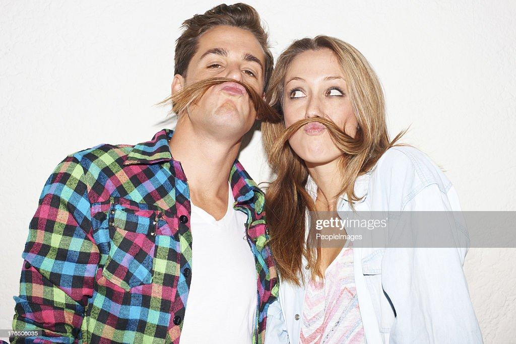 Su alrededor de los labios lo adorable. : Foto de stock
