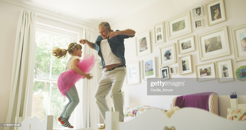 Your parents just left, let the fun begin! : Stock Photo