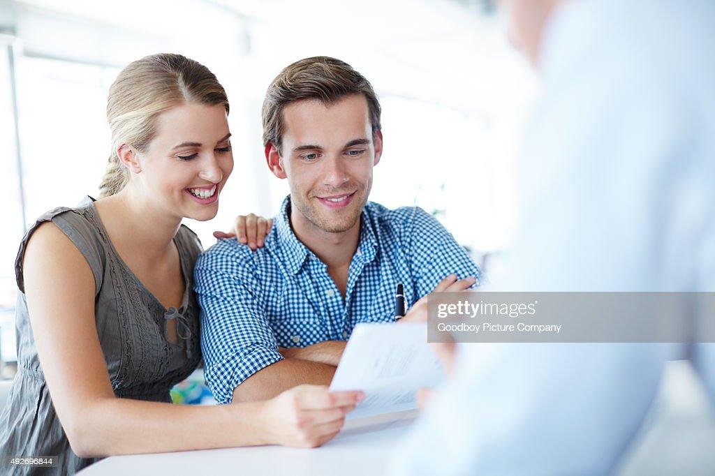 Your portfolio is very healthy! : Stock Photo