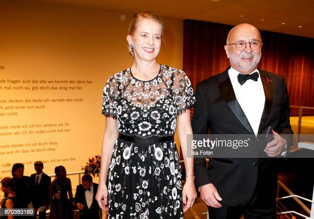 Your Royal Highness Princess Mabel von OranienNassau and Alfred Weiss initiator AIDSGala during the 24th Opera Gala at Deutsche Oper Berlin on...