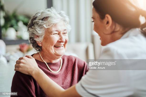 your smile always puts a smile on my face - the ageing process stock pictures, royalty-free photos & images