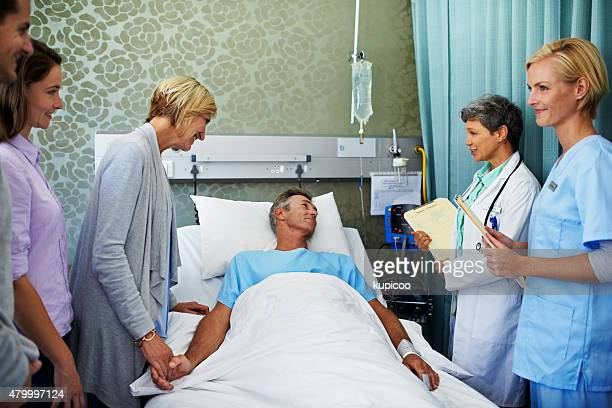 your test results say you'll be fine! - patients brothers stock pictures, royalty-free photos & images