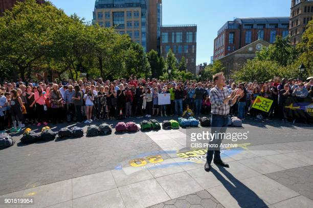 'You're a Champion Prove It'Host Phil Keoghan stands in iconic Washington Square Park in New York City to welcome 11 new teams at the start of the...