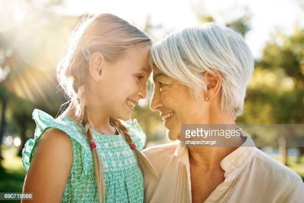 você é uma alegria para meu coração - avó - fotografias e filmes do acervo