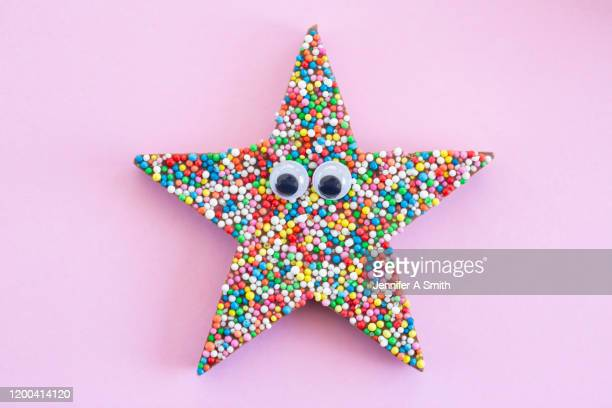 you're a star - dessert topping stock pictures, royalty-free photos & images