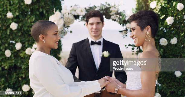 you're everything i could ever ask for in a woman - wedding ceremony stock pictures, royalty-free photos & images