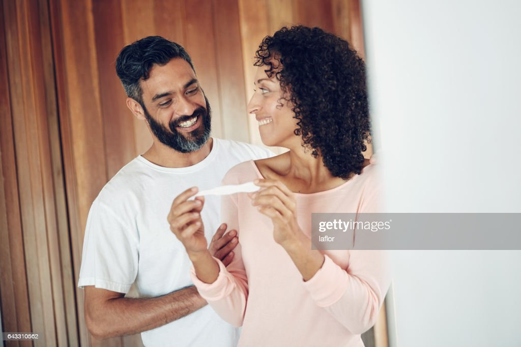 You're going to be a daddy : Stock Photo