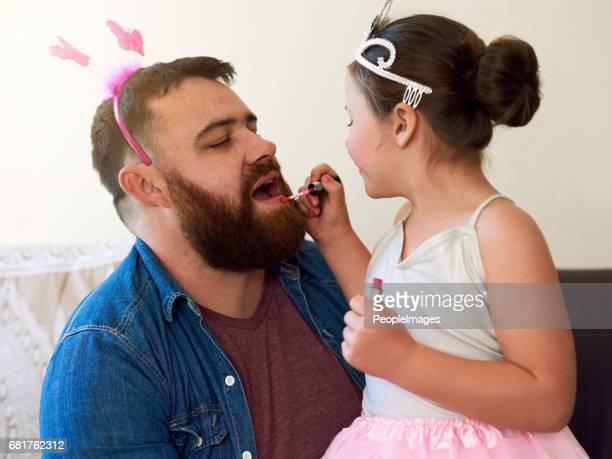 Du wirst diesen Lippenstift lieben Papa