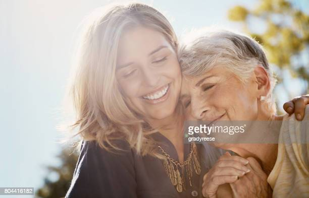 you're more special to me than words could say - two generation family stock pictures, royalty-free photos & images